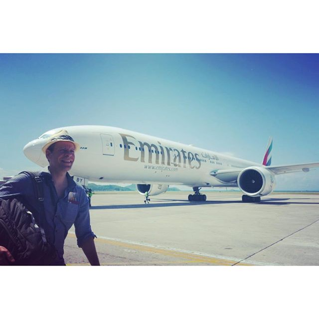 Beautiful bird #emirates #notmyplane #tbtuesday