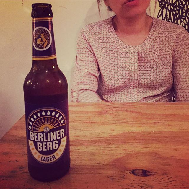 First craft beer in Berlin #berlinerberg