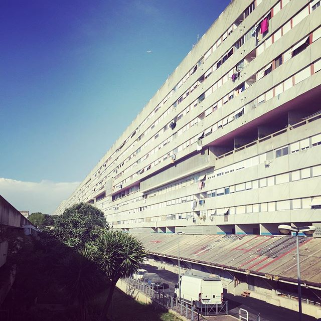 Corviale, 1 km long social housing utopia that houses 7000 people #socialistmodernism #fail