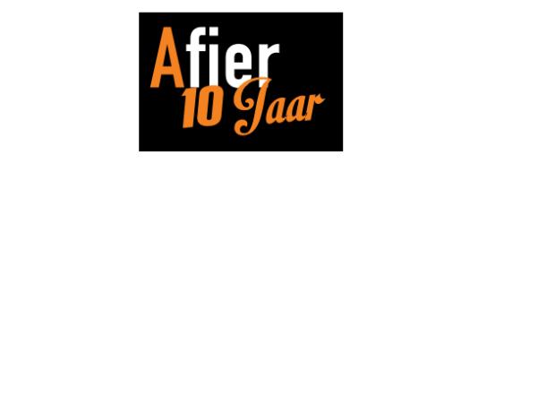 logo afier 10 jaar