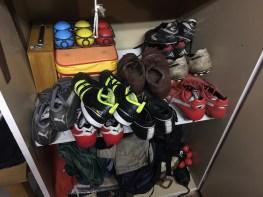 schoenen op de plank