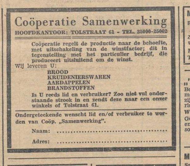 cooperatie oud