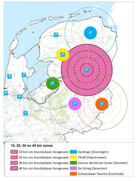 kaartje verzorgingsgebied Hoogeveen