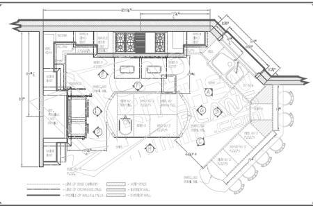 kitchen floor plans pictures2