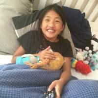 Happy little china girl