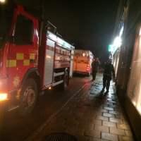 En tuff arbetsvecka avslutas med lite spontanbrand i källaren