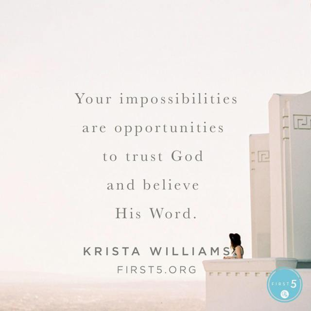 Unbelief almost always underestimates God and magnifies our personal weaknesshellip