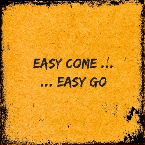 Krisztina Farkas Cyber Monday Thoughts Of Easy Come Easy Go