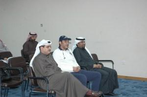 إيد الخرافي وعلي كاظم الجمعة في مقدمة الحضور