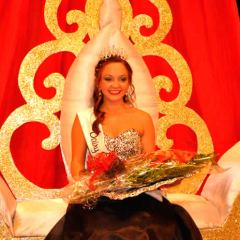 Reigning Dairy Festival Queen Kennedy Potts