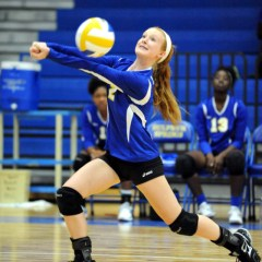 Lady Cats' Volleyball Team Played With a Lot of Effort