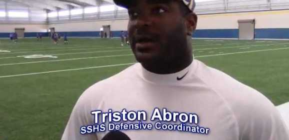 Coach Abron Reflects on Whitehouse