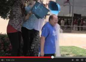 Tom Sellers Takes the Bucket Challenge
