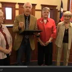Judge Newsom Proclaims Constitution Week in Hopkins County
