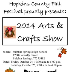 Fall Festival Arts and Crafts Show Takes Place Next Friday and Saturday