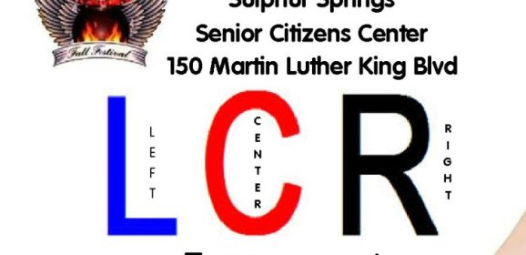 Tuesday, October 21st is Senior Citizens Day at 10:30 AM