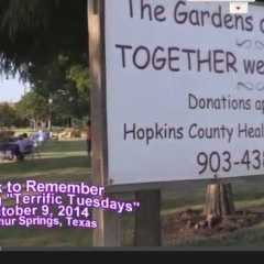 """Updated"" Walk to Remember Benefiting ""Terrific Tuesdays"""
