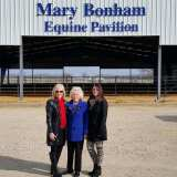 Mary Bonham Honored by Texas A&M University Commerce
