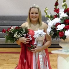 Sarah Weatheread Named Homecoming Queen at North Hopkins