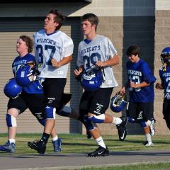 Wildcat Football Concludes First Week of Practice