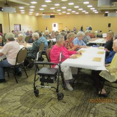 Food, Music, Bingo, and Prizes at Senior Citizen Night at Fall Festival