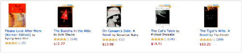 Amazon Recommends for Shin