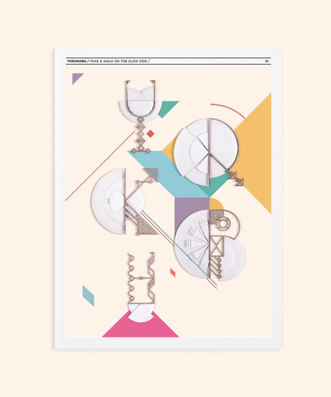 Diseño Yorokobu, portada, editorial, diseño gráfico, KUINI Estudio.