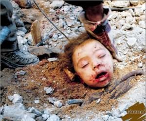 Seorang kanak-kanak Palestin mati akibat tertimbus