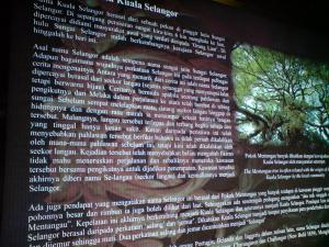 sejarah asal usul nama Selangor