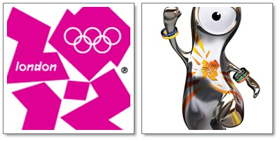 logo olimpik 2012 dan maskot olimpik 2012