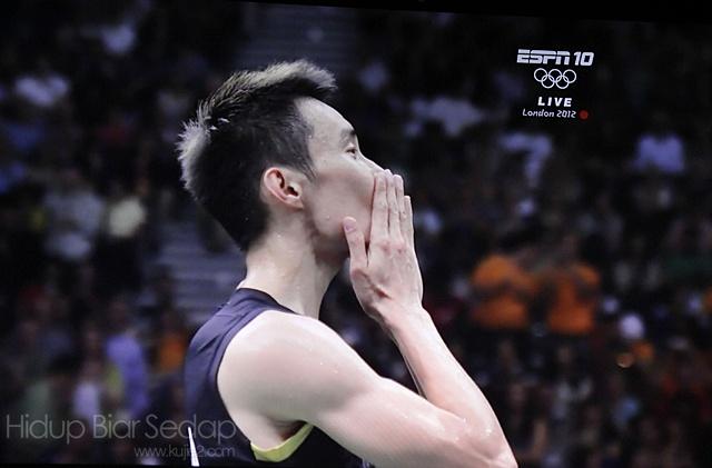 gambar datuk lee chong wei badminton olimpik 2012