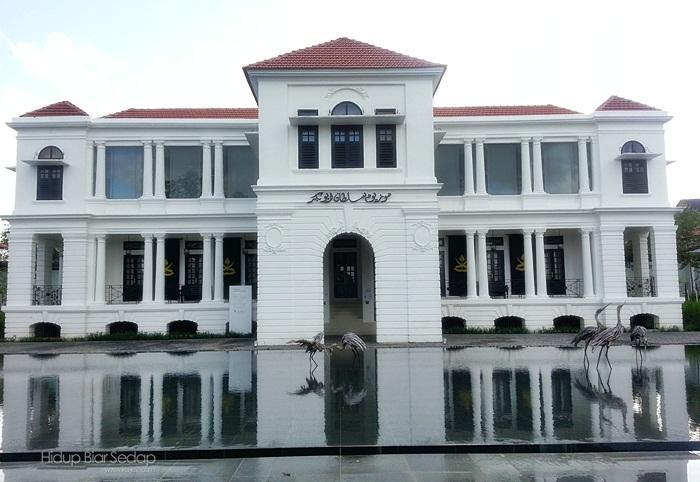 lokasi muzium sultan abu bakar pekan
