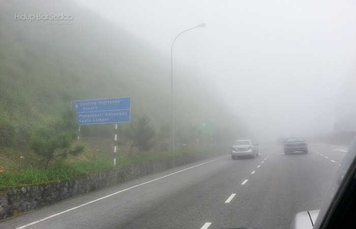 cuaca di genting highlands