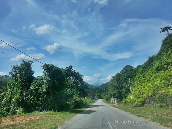 Jalan Jeli - Dabong - Sungai Sam