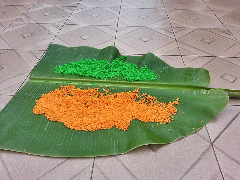 beras dijemur
