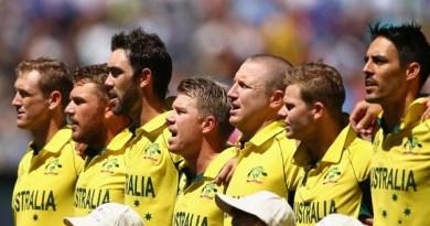 Australia Cricket Team 2015
