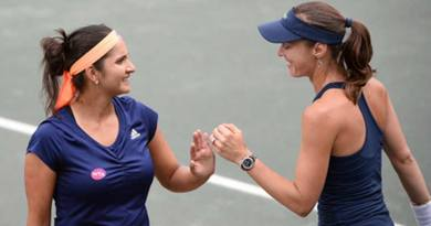 Tennis- S Mirza And M Hingis  Win At US Open 2015- Retain No 1 Ranking.