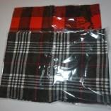 Plaid scarf color