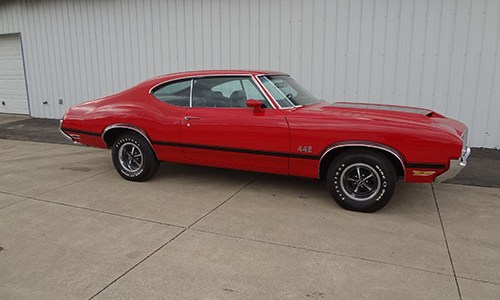 1972 Olds 442 001