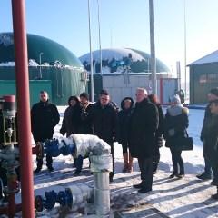 Radni Gminy Stoczek z wizytą w Biogazowni w Tończy