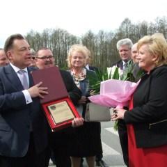 Uroczyste przekazanie nowego odcinka drogi od Treblinki do Kosowa Lackiego