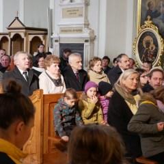 Powiatowe Uroczystości  w 38. rocznicę  wyboru kardynała Karola Wojtyły na Papieża Jana Pawła II w Brańszczyku