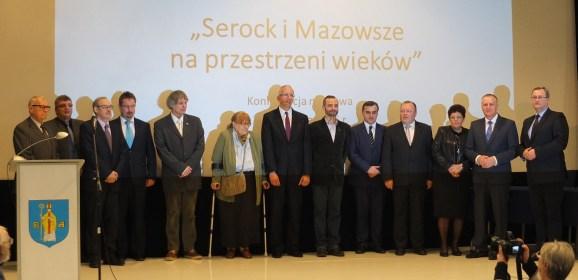 """Konferencja """"Serock i Mazowsze na przestrzeni wieków"""""""