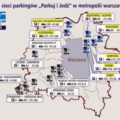 """Siedem gmin naszego regionu pozyskało fundusze na rozwój sieci parkingów """"Parkuj i Jedź"""""""
