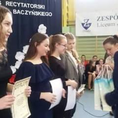 13. spotkania z poezją K.K.Baczyńskiego w Zespole Szkół w Tłuszczu