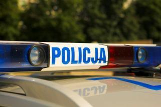 Węgrowska Policja na targach pracy