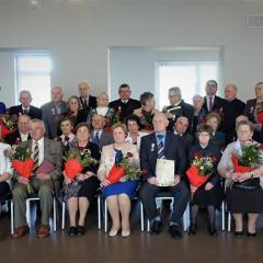 Jubileusz małżeński w Łochowie