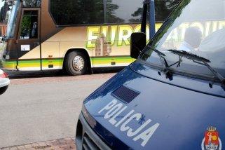 Policyjne kontrole autobusów przed wycieczkami
