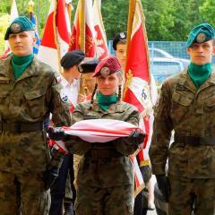 Uroczysta inauguracja działalności Międzyszkolnego Klubu Historycznego im. Armii Krajowej Ziemi Radzymińskiej