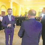 Honorowa Odznaka dla Burmistrza Ząbek za Zasługi dla Samorządu Terytorialnego
